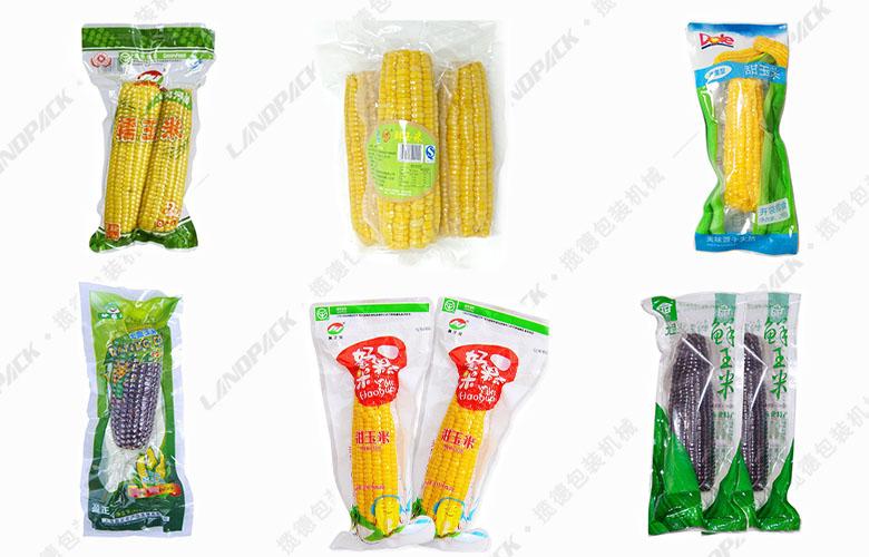 真空包装玉米样品
