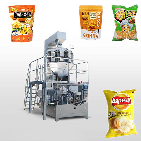 膨化食品包装机_全自动膨化食品包装机