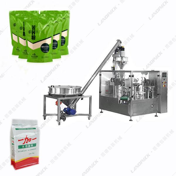 面粉包装机_袋装面粉自动包装机