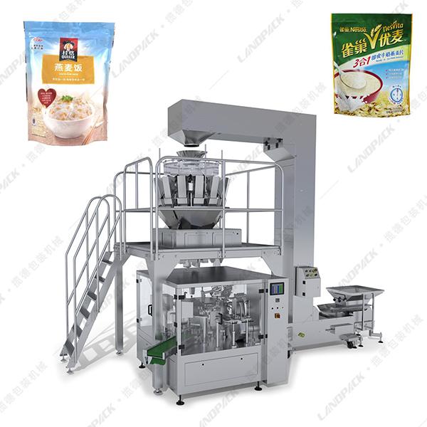 燕麦片包装机_燕麦片给袋式包装机