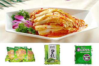 酱腌菜全自动给袋式真空包装机,让包装更简单,更节省