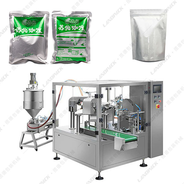 小铝箔袋给袋式液体包装机
