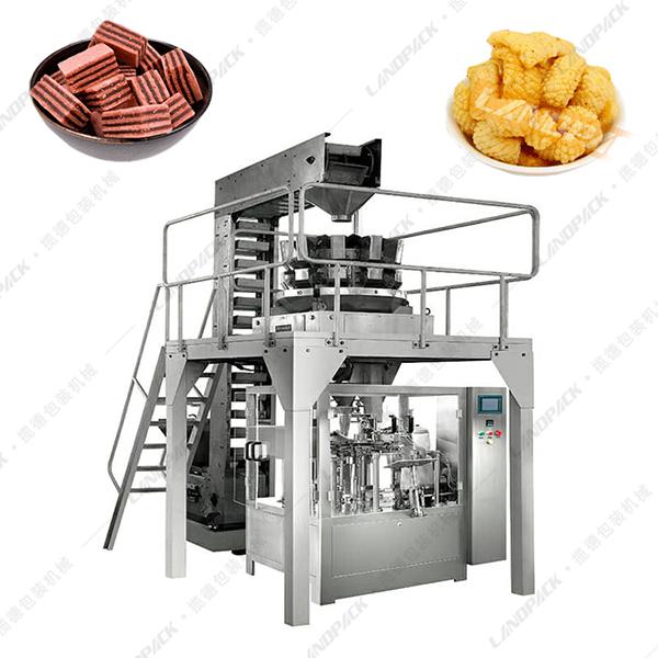 块状给袋式包装机_块状食品包装机