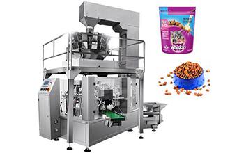 给袋式包装机在食品企业存有的优点
